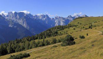 Altopiano della Paganella - Brenta visto dai prati di Gaggia - Pio Geminiani